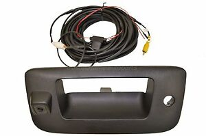 Tailgate Handle Bezel With Camera Assembly For Chevrolet Gmc Sierra 1500 2500