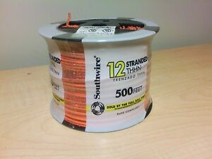 Southwire 12 Guage Stranded Thhn Copper Wire 500 Ft Orange