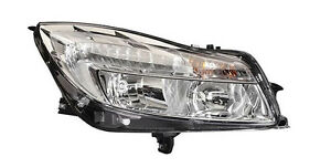 Hella Right Side Passenger Headlight With Drl For Opel Insignia 2008 2013