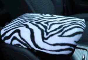 Armrest Covers For Center Console center Console Cover U3 zebra Print