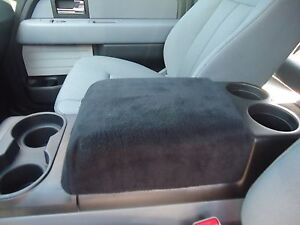 Fits Ford Expedition 2007 2011 Fleece Center Armrest Console Cover F1