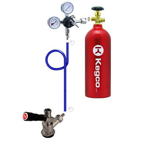 Kegco Direct Draw Kit For Kegerators And Jockey Boxes With 5 Lb Co2 Tank