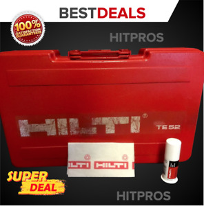 Hilti Case For Te 22 only Case Preowned Original Free Grease Fast Ship