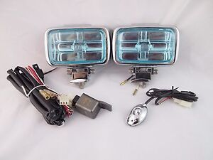Chevrolet Fog Lights Universal Car Truck Suv Kit Set Harness Hid Style
