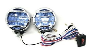 2 4x4 Off Road Replacement L R Universal Driving Lamps Fog Lights Set 35w 12v