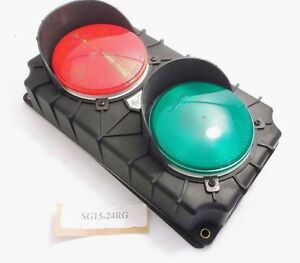 Serco Sg15 24rg Traffic Control Light Red Green 24vdc Prepaid Shipping