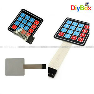 4 X 4 Matrix Array 16 Key Membrane Switch Keypad Keyboard F Arduino avr pi c