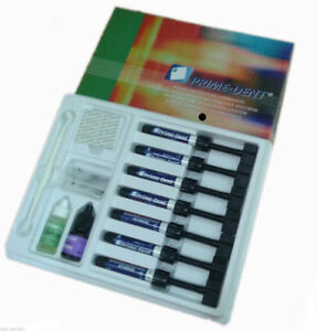 Prime dent Light Cure Hybrid Dental Resin Composite 7 Syringe Kit 001 010