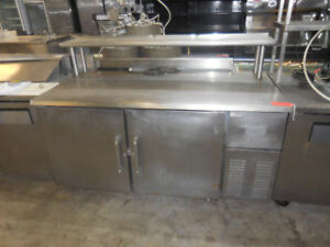 Star Metal Sta20rs Refrigerated Stainless Steel Table Top Work Prep Station 2 Dr