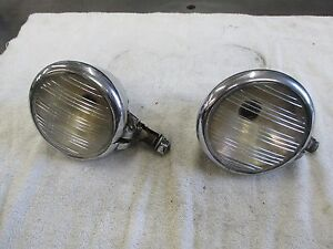 1933 1934 Pierce Arrow Parking Lights Pair