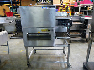 Lincoln Impinger Double Stack Pizza Oven Conveyer Electric 3 Phase 240 Amps