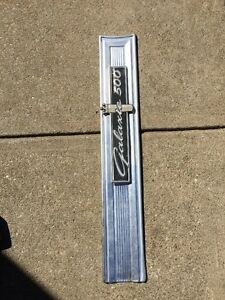 1964 Ford Galaxie 500 Back Panel Moulding