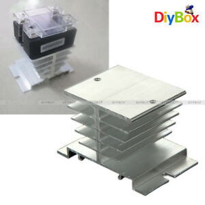 Aluminum Heat Sink For Solid State Relay Ssr Small Type Heat Dissipation 10a 40a