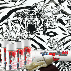 Hydro Dipping Water Transfer Printing Hydrographic Dip Kit Crazy Tiger Ll 153