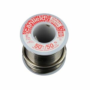 Canfield 50 50 Solder 1 Lb Roll