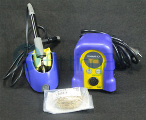 Fx 888d Hot Gun 70w 220v Pro Hakko Digital Soldering Station Welder Iron Repair