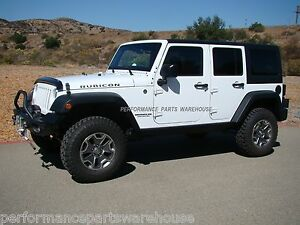Rubicon Express 2 5 Lift Kit 07 18 Jeep Wrangler 4 Door Mono Tube Shocks