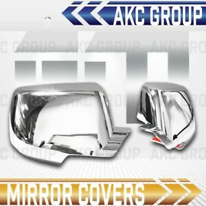 Cobra Tek For Tahoe Suburban Escalade Yukon Chrome Top Side Mirror Cover Cap