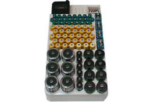 Battery Rack For 82 Batteries With Tester