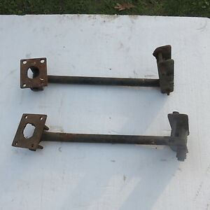 Vintage Old School Cool Traction Bars Rat Hot Rod Chevy Ford Dodge W Nos Paint