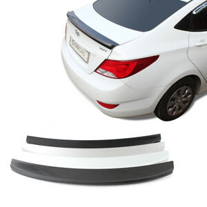 Gubin Rear Wing Abs Spoiler 4 Color Painted For Hyundai Accent Solaris 2011 2017