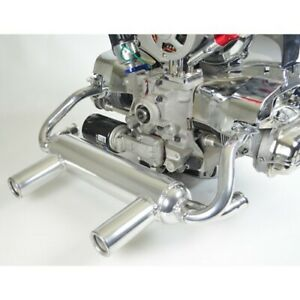 2 Tip Exhaust For Type 1 Vw Engines Ceramic Coated Dunebuggy