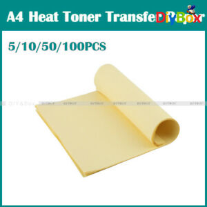 5 10 50 100pcs A4 Heat Toner Transfer Thermal Paper For Iron Pcb Prototype Board