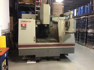 Tree Vmc800 3 axis Cnc Machining Center 230v 3 Phase Good Working Condition