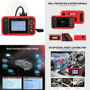 Launch Crp129 Obd2 Scanner Scan Tool Eng At Abs Srs Epb Sas Oil Service New