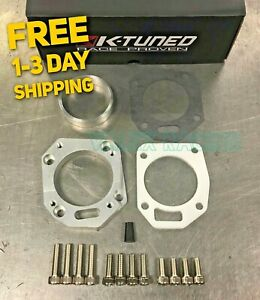 K Tuned Rbc Rrc Dual Throttle Body Adapter 62 70mm Both Sizes W Thermal