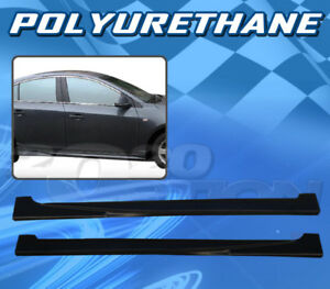 Type 3 Polyurethane Pu Add on Side Skirt For 11 12 Chevy Cruze