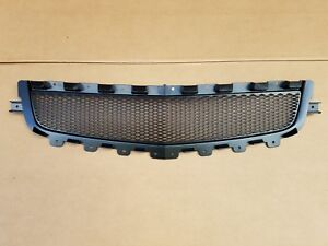 Fits 2008 2012 Chevy Malibu Lower Middle Grille Black New