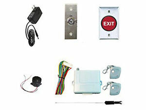 Complete Wireless Entry Pawn Shop Magnetic Lock Kit