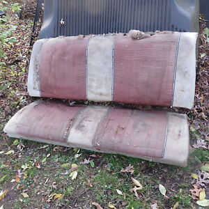 1961 Galaxie Starliner Complete Factory Oem Rear Seat W Nos Fit