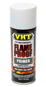 Vht Sp118 High Temperature Exhaust Manifold Paint Flat White Primer Flameproof