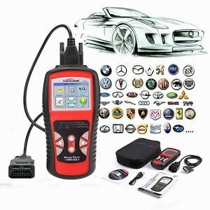 Kw808 Eobd Can Obdii Obd2 Car Code Reader Diagnostic Scan Tool Fault Scanner
