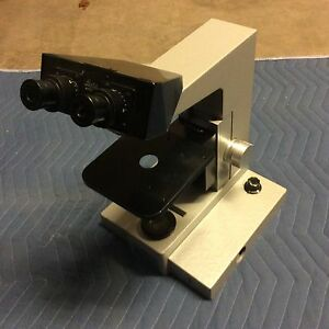 Leica Leitz Microscope Nose And Body Stereo Lens As Shown