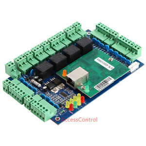 Wiegand Tcp ip Network Access Control Board Panel Controller For 4 Door 4 Reader