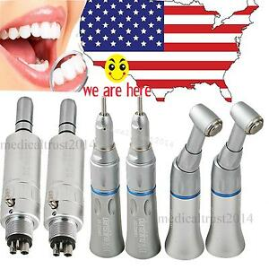 2set Denshine Autoclave Slow Low Speed Dental Handpiece 4 Hole For Nsk E type