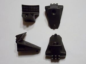 Replacement Rim Clamp Jaw Set Coats 5030 5050 5060 5065 Ax ex Tire Changer 4 Pcs