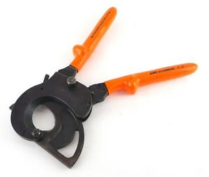 Facom 414 52 Avse 1000 Volt 2 Capacity Ratcheting Insulated Cable Wire Cutter Y