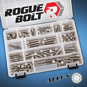 Mopar Big Block Stainless Steel Engine Bolt Kit Set 383 400 413 426w 440 B Rb Bb