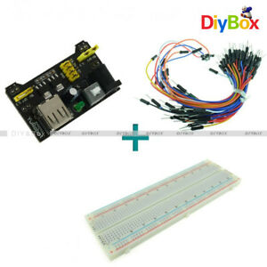 Mb 102 Solderless Breadboard Protoboard 830 Tie Points 2 Buses Test Circuit New