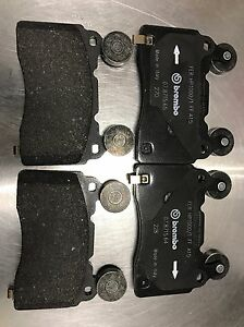 Chevy Gm Oem 2010 15 Camaro Ss Tesla S Front Brembo Brake Pads 22907156 171 1112