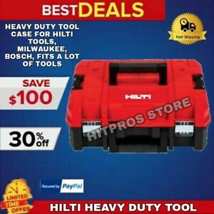 Heavy Duty Tool Case For Hilti Tools Milwaukee Bosch Fits A Lot Of Tools