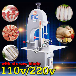 Automatic Bone Sawing Machine frozen Meat Bone Cutter Food Cutting Machine 110v
