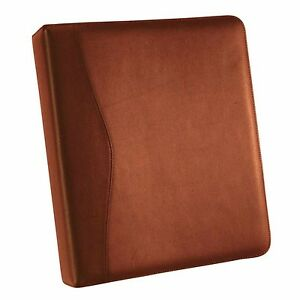 Royce Leather 2 D Ring Binder