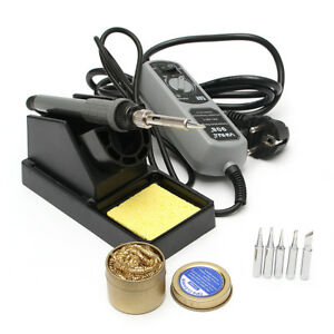 Yihua 908 220v 60w Electric Iron Soldering Station Welding Rework With Solderin