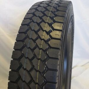 4 Tires 11r22 5 Road Warrior 607 H 16 148 145l Open Shoulder Drive Truck Tires