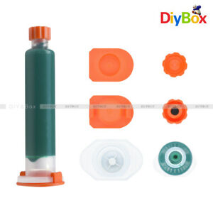 10ml Green Pcb Uv Curable Solder Mask Repairing Paint New